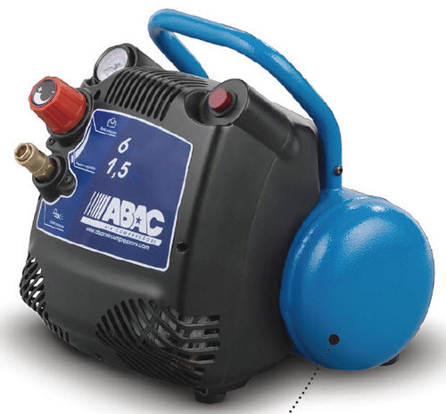 воздушный компрессор / переносной / с электродвигателем / поршневый