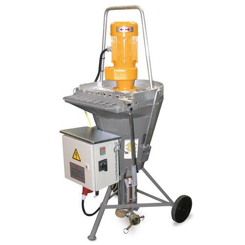 машина для механического нанесения для штукатурки