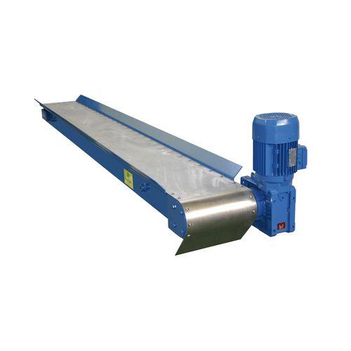 конвейер с магнитной лентой / для стружки / горизонтальный / автоматический