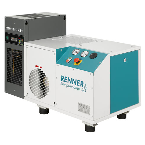 компрессор с сушкой охлаждением / воздушный / стационарный / с электродвигателем