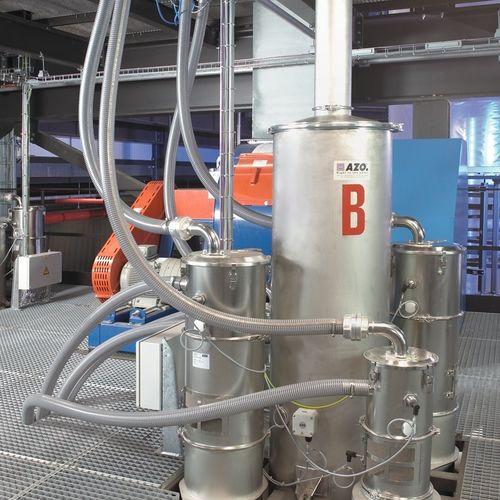 вакуумный коллектор для пневматической транспортировки