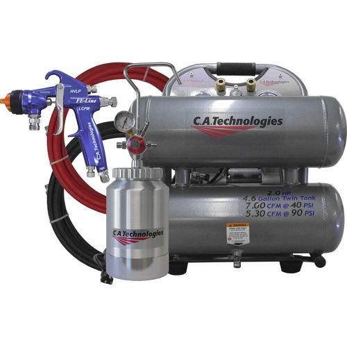 воздушный компрессор / переносной / с электродвигателем / с баком