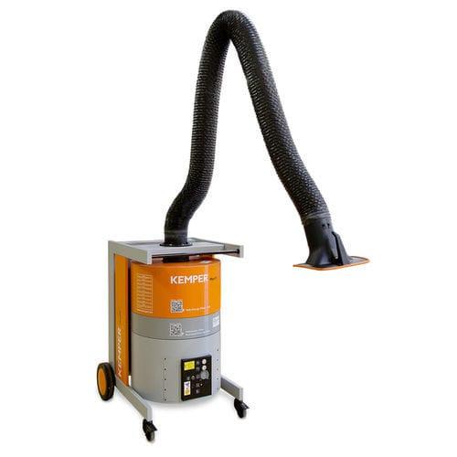 мобильный дымоуловитель / с активным угольным фильтром / со всасывающим рукавом / для пыли
