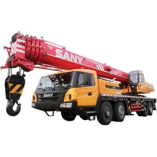 грузовой автомобиль подъемный кран / четырехосный