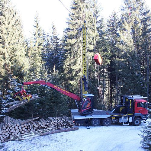 колесная лесозаготовительная машина