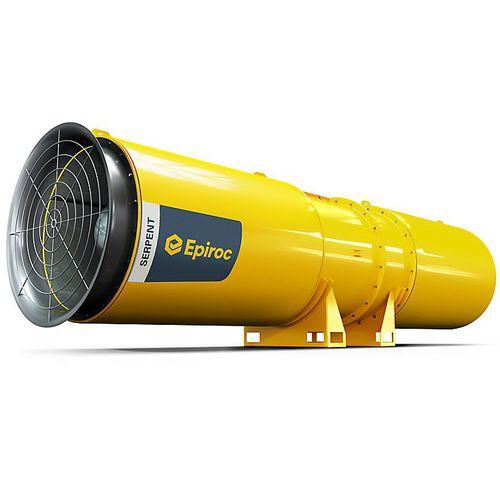 осевой вентилятор / высокое давление / экологический / для подземной шахты