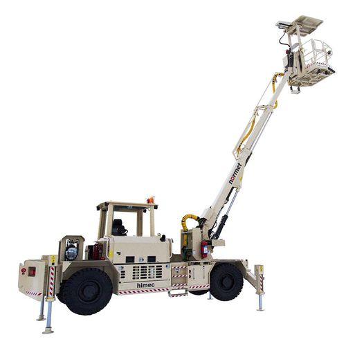 самоходный телескопический подъемник / для подземной шахты / для туннеля / для кровли