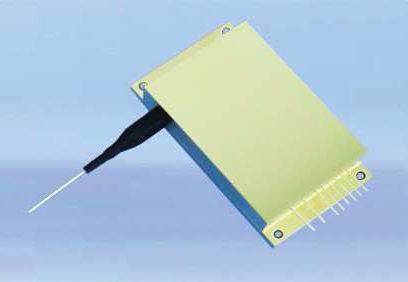 лазерный диод с соединенными волокнами