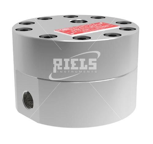 шестеренчатый расходомер / с овальными шестернями / для топлива