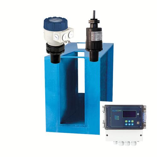 расходомер для открытого канала / ультразвуковой / для воды / для сточных вод