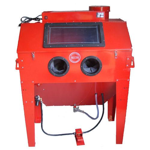вакуумная кабина пескоструйной обработки