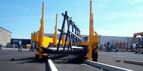 прицеп более 6 осей / платфома / для тяжелых грузов