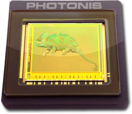 датчик изображения CMOS / цвет / монохромный / в твердом состоянии
