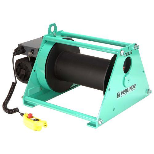 электрическая лебедка / для подъема / тяговая / компактная