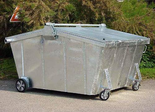 контейнер для отходов из гальванизированной стали