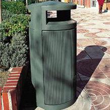 мусорный контейнер из металла