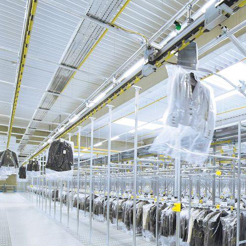 конвейерная система для одежды