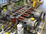 поршневый компрессор / для природного газа / стационарный / с электродвигателем