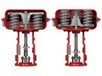 пневматический привод для клапана / линейный / поршневый / с пружинным возвратом
