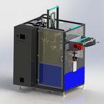 этикетировочная машина для рукавной этикетки / автоматическая / для бутылок / для фармацевтической промышленности