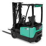 электрическая подъемная тележка / с местом для сидения водителя / для складов / для разгрузочно-погрузочных работ