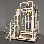 наполнительная машина IBC / для сыпучих материалов / полностью автоматическая / весовая