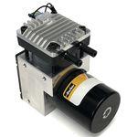 насос для газа / с бесщеточным мотором пост. тока / поршневый / промышленный
