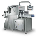 автоматическая промышленная машина для нарезки хлеба