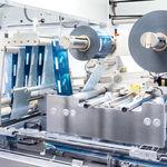 горизонтальная машина для наполнения мешков / упаковка «флоу-пак» / для пищевой промышленности / для косметической промышленности