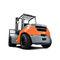 подъемная тележка с противовесом / GPL / дизельная / с местом для сидения водителяTOYOTA Material Handling