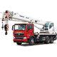 башенный кран на грузовике / со стрелой / телескопический / гидравлический