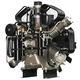 поршневый компрессор / вдыхаемого воздуха / с электродвигателем / стационарный