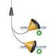 поплавковый сигнализатор уровня / для жидкостей / для резервуара / со встроенной сигнализацией