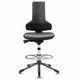 поворотный стул для чистого помещения / эргономичный / со ступенькой / антистатический