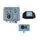 детектор высокого напряжения / для электролинии / со звуковой сигнализацией / с визуальной сигнализацией