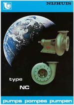 End Suction Pumps Type NC