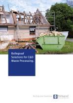 Construction & demolition waste solutions