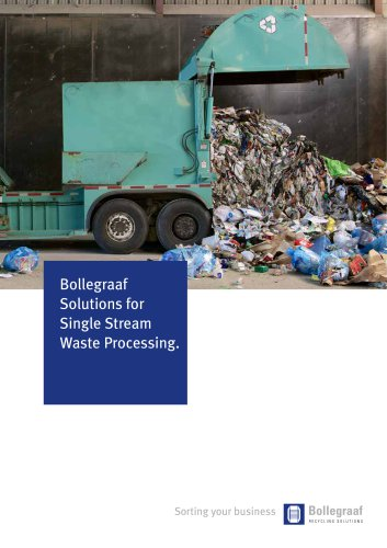 Single stream waste solutions