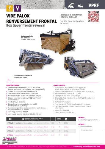 Palox Emptier Frontal Reversal