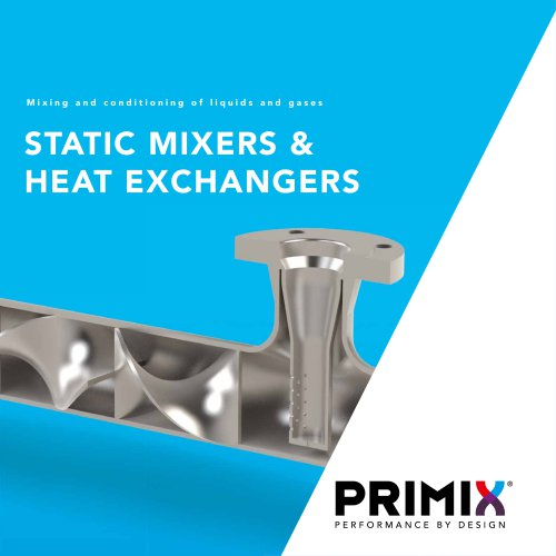 PRIMIX company and product brochure