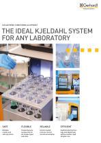 THE IDEAL KJELDAHL SYSTEM FOR ANY LABORATORY