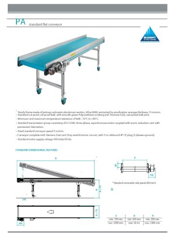 Conveyors and Sorting