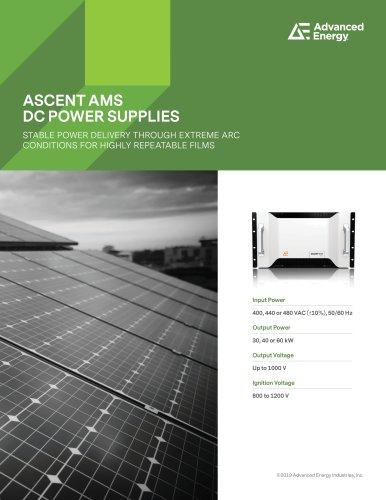 ASCENT AMS DC POWER SUPPLIES