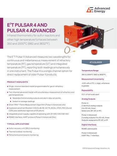 E2T Pulsar4 Datasheet