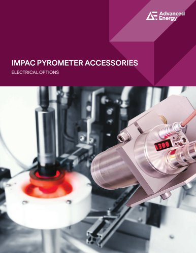 Electrical Accessories for Impac Pyrometers