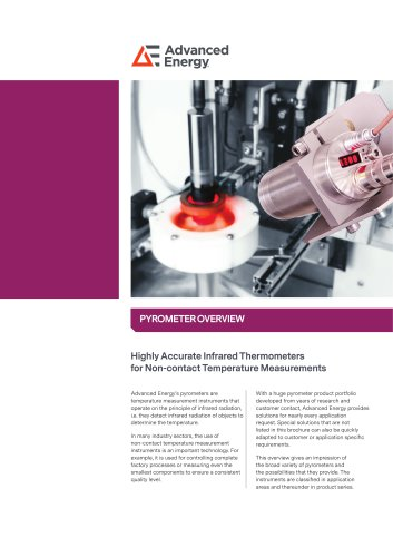 Impac Pyrometer Overview