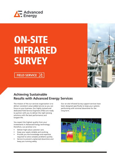 ON-SITE INFRARED SURVEY