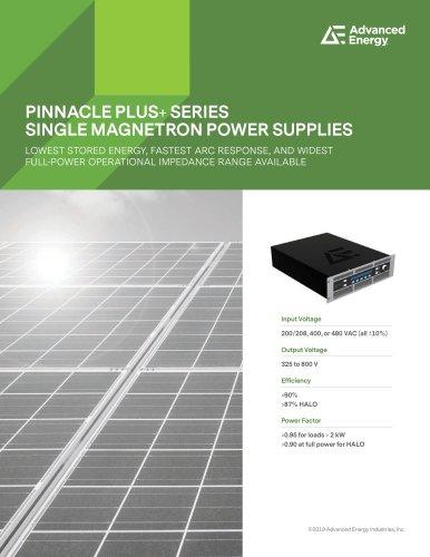 PINNACLE PLUS+ SERIES SINGLE MAGNETRON POWER SUPPLIES