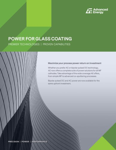 POWER FOR GLASS COATING