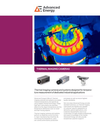 Thermal Imaging Cameras Overview